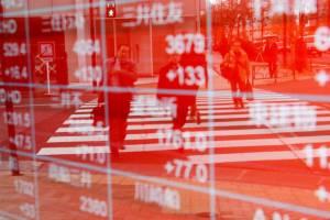 افت سهام آسیایی با تداوم ریسکهای تجاری