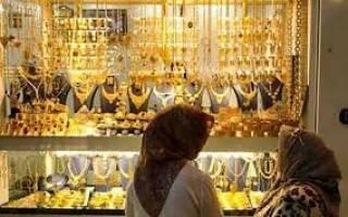 دلار عامل ارزانی طلا