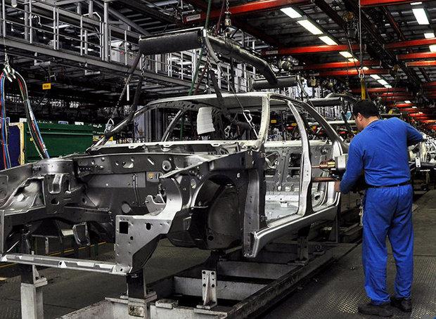 کارخانه بدنه سازی چند منظوره محصولات جدید ایران خودرو افتتاح شد