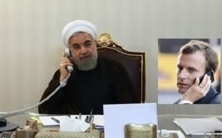 جزئیات مکالمه تلفنی مکرون و روحانی در آستانه گام دوم تهران