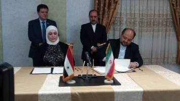 ایران و سوریه در زمینه رفاه و اشتغال سند مشترک همکاری امضا کردند