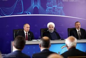 اجلاس سهجانبه سران ایران، روسیه و آذربایجان به زمان مناسب موکول شد