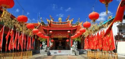 معبد جوی توی پوکت تایلند