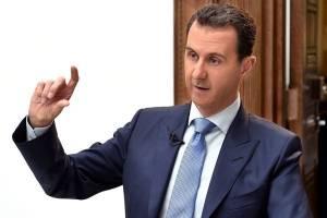بشار اسد: ترکیه به حمایت نامحدود از تکفیریها ادامه میدهد