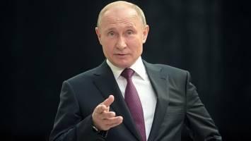 دستور پوتین برای تدارک «پاسخ متقارن» به آزمایش موشکی آمریکا