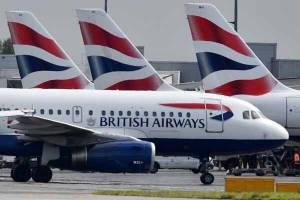 بیش از ۱۵۰۰ پرواز بریتیشایرویز کنسل شد