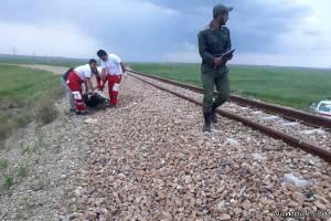خروج قطار مسافری زاهدان – تهران از ریل