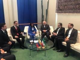 رایزنی ظریف با معاون رئیسجمهور ونزوئلا درمورد آخرین تحولات این کشور