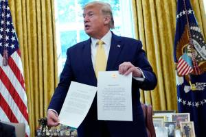ترامپ «توافق تجاری فاز ۱» با چین را اعلام کرد