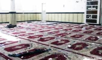 وقوع انفجارهایی در مسجدی در افغانستان؛ دستکم ۶۰ کشته و ۱۰۰ زخمی