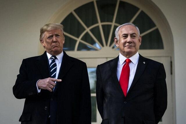 ترامپ: اراضی فلسطینیها دو برابر میشود/نتانیاهو: طرح ترامپ، مسیر واقعی صلح پایدار است