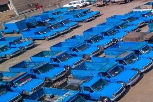 ارائه خدمات مشابه کامیونها به وانتها