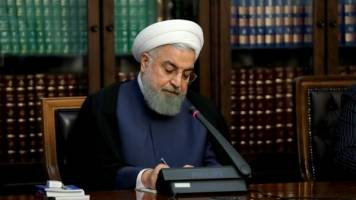 تسلیت رئیس جمهور به مناسبت درگذشت تعدادی از هموطنان در مراسم خاکسپاری سردار سلیمانی در کرمان