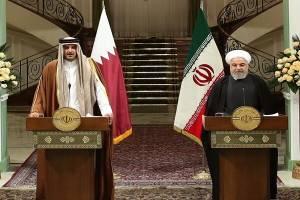روحانی:کمیسیون ایران و قطر تشکیل می شود
