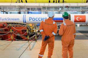 اولین یک میلیارد مترمکعب گاز روسیه به ترکیه صادر شد