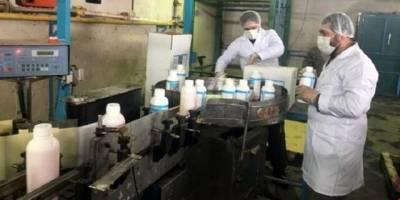 افزایش ۷ برابری تولید محصولات ضدعفونی