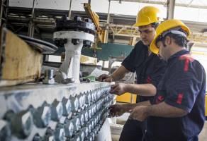 کاهش تعداد کارگاههای صنعتی و کارکنان آنها