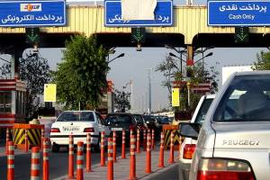 ترافیک سنگین در آزادراه تهران-قم