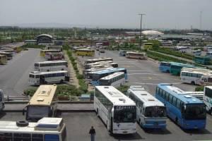 ترمینال اتوبوسرانی غرب تهران تعطیل شد