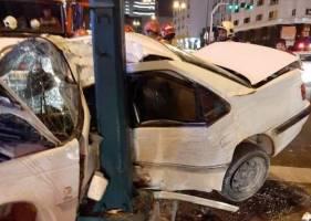 امکان ارسال عکس تصادف برای شرکت بیمه و دریافت خسارت فراهم شد