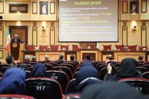 نشست آموزشی پیشگیری از ویروس کرونا در اتاق ایران
