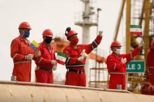 یک نفتکش ایرانی حامل محصولات پتروشیمی در راه ونزوئلا است