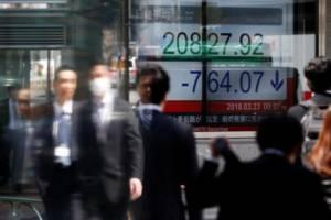 نوسان سهام آسیایی و نرخ دلار با افزایش مبتلایان کرونا در آمریکا