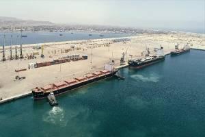 خط تجارت دریایی چابهار به چین برای اولین بار راه اندازی شد