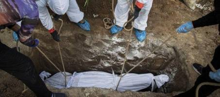 دفن ۲۳۴ بیمار کرونایی طی دو روز گذشته در تهران!