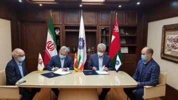 اتاق مشترک بازرگانی ایران و عمان و خانه معدن تفاهمنامه همکاری امضا کردند
