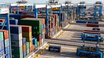 ۳۸ میلیون تن کالاهای غیرنفتی صادر و ۱۳.۸ میلیون تن واردات انجام شد