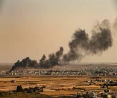 هلیکوپتر ارتش آمریکا در سوریه سقوط کرد