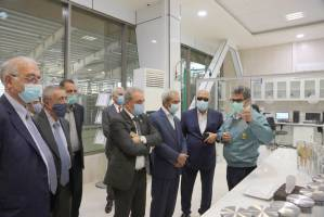 بازدید رئیس اتاق ایران از مجموعه تولیدی صنایع غذایی  «زر»