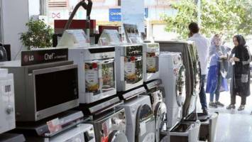 کاهش قدرت خرید مردم، موجب ریزش 50 درصدی فروش لوازم خانگی شده است