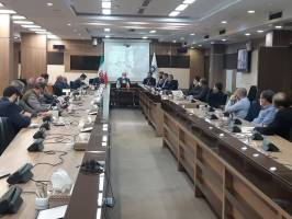 دیدار رئیس انجمن بینالمللی تجارت اسلامی با جمعی از صادرکنندگان برتر و نمونه ایران
