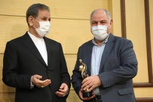 اهدای جوایز صادرکنندگان برتر در روز ملی صادرات