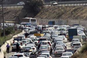 ترافیک سنگین در آخرین روز ممنوعیت سفر!