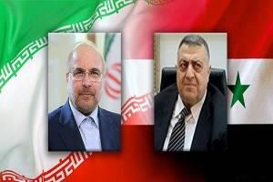 قالیباف انتخاب بشار اسد به عنوان رئیسجمهور سوریه را تبریک گفت