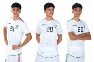 کیت جدید تیم ملی فوتبال رونمایی شد