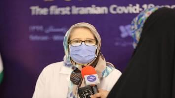 مینو محرز: افرادی که در مرحله اول، واکسن خارجی زده اند، میتوانند برای دوز دوم واکسن ایرانی «برکت» را تزریق کنند