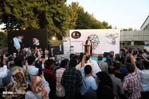 حضور سید ابراهیم رئیسی در جمع فرهنگیان