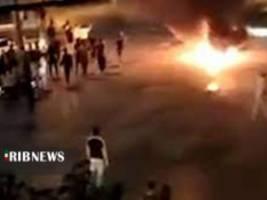 صداوسیما: یک کشته در اعتراضات الیگودرز لرستان