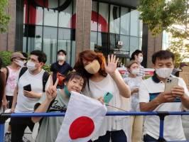 استقبال غافلگیرکننده مردم ژاپن از شرکتکنندگان المپیک