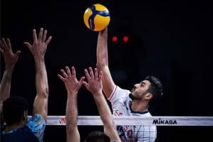 والیبال المپیک ۲۰۲۰ توکیو/ ایران ۱ - ۱ لهستان