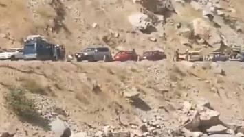 جنگ در پنجشیر؛ مردم محلی: طالبان دستور 'کوچ اجباری' دادهاند