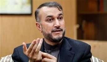 روزنامه جمهوری اسلامی: امیرعبداللهیان گفته مصوبه مجلس مانعی در راه مذاکرات احیای برجام است