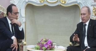 «پوتین» برنامهای برای دیدار با «اولاند» ندارد