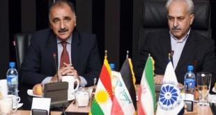 امضای توافق نامه همکاری میان اتاقهای بازرگانی کرمانشاه و سلیمانیه