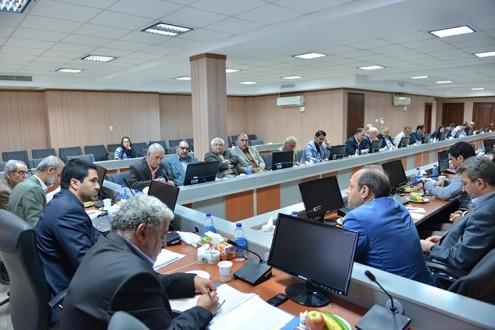 حضور رئیس سازمان دامپزشکی در هفتمین نشست کمیسیون کشاورزی، آب و صنایع غذایی اتاق تهران