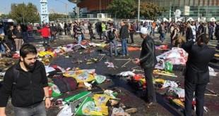 شمار کشته های انفجارهای آنکارا به ۹۷ نفر رسید